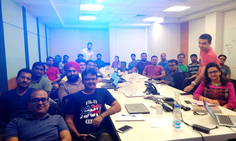 Docker, Ansible, Jenkins and other advanced topics training at Bravura, Gurugram