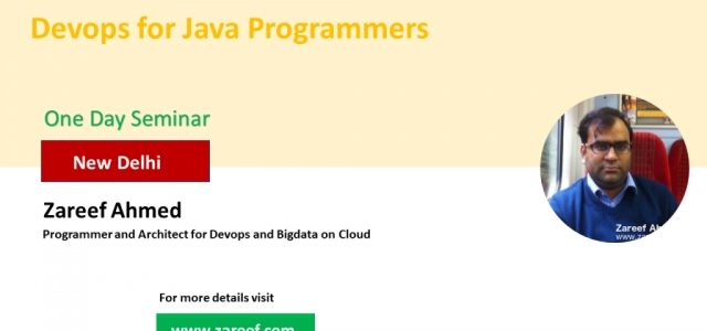 Seminar : Devops for Java Programmers with Zareef Ahmed