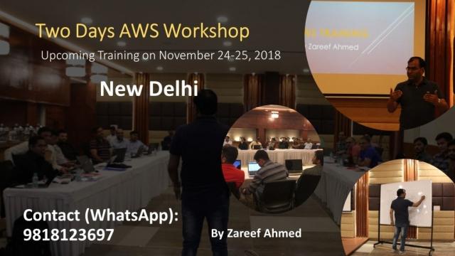 Amazon Web Service (AWS) Training and Workshop